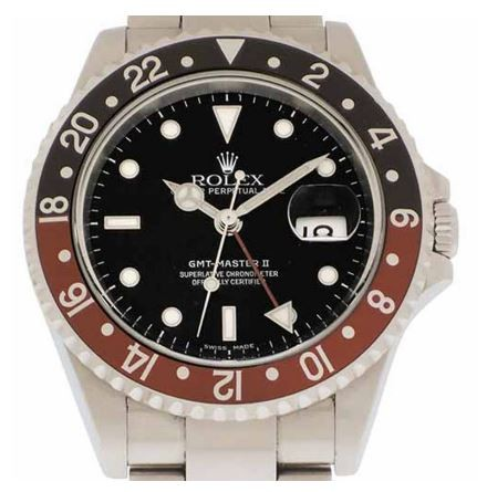 Root Beer GMT Rolex watch ref 16710